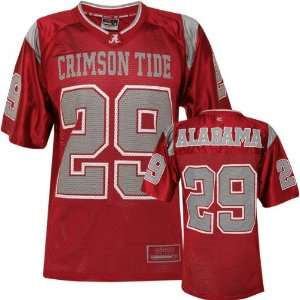 Alabama Crimson Tide  Team Color  Rivalry Football Jersey