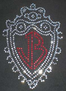 Jonas Brothers Logo T shirt Fitted Rhinestone Nick joe