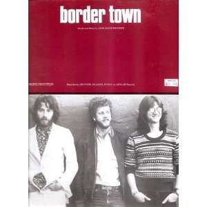 : Sheet Music Border Town Souther Hillman Furay 176: Everything Else
