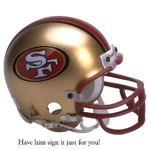 Joe Montana San Francisco 49ers Personalized Autographed