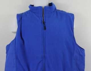 New Greg Norman Mens Vest Shark Golf Reversible L XL