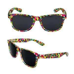 Wayfarer Fashion Sunglasses 222MLRSM Multi Color Frame Design with