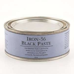Iron 56 Black Paste   10 oz.   Black Patinating Wax: Automotive