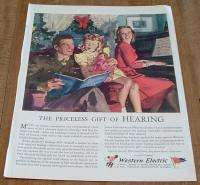 1944 *WESTERN ELECTRIC BELL TELEPHONE* MAGAZINE AD CD