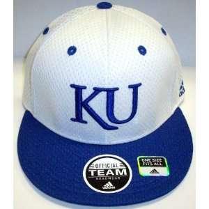 NCAA Kansas Jayhawks OSFA Flat Billed Hat
