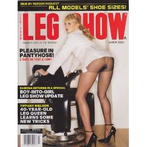March 2005 Leg Show Magazine: Dian Hanson: Books