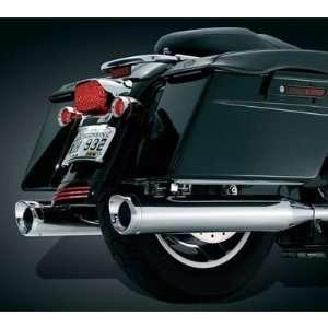 Kuryakyn 498 Crusher Mufflers with Slip Stream Tips (pr) Fits Harley
