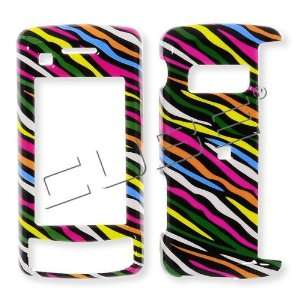 LG ENV Touch VX11000 Colorful Black Zebra Skin Hard Case