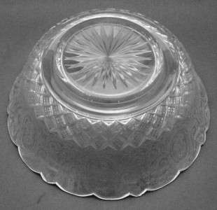 ABP Antique American Brilliant Period Cut Glass Bowl