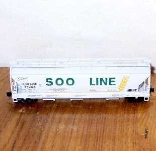 Soo Line 3 Bay ACF Centerflow Hopper Micro Trains Line N Scale Rd