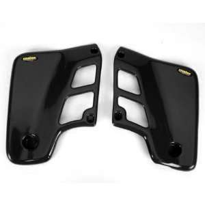 Maier Black Radiator Scoops Honda Dirt Bike Automotive