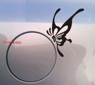 Brand New White Butterfly Decal Vinyl Car Wall Sticker |