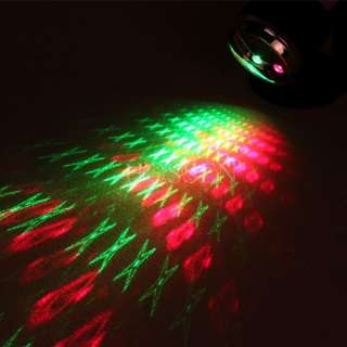 Sound Activate Laser Star Projector Stage Lighting Effect DJ KTV Disco