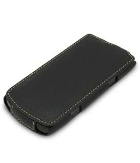 Premium Leather Case for Samsung Wave II GT S8530/Jacka/Black LC