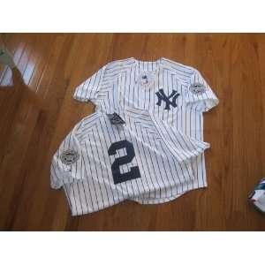 MLB New Derek JETER #2 New York YANKEES Med Home WHITE Baseball Jersey