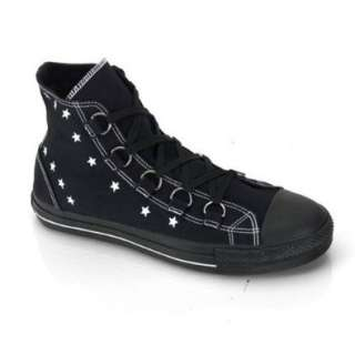 MENS Canvas High Top Shoes Rocker Black Sneaker Emo Shoes