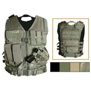 NcStar Tactical Vest Digital Camo ACU XXL Sports