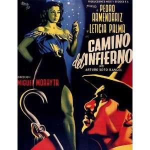 Camino del infierno Poster Movie Spanish (11 x 17 Inches   28cm x 44cm
