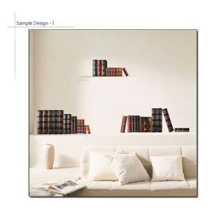 BOOKS Home Art Removable Wall Sticker Mural Decor Paper