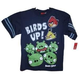 Licensed Rovio Angry Birds Kids T shirt Size X Large Dark