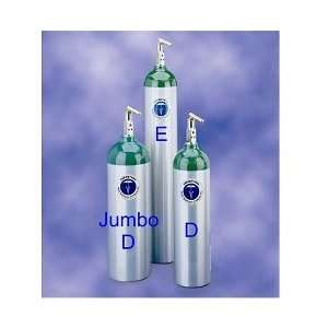 Oxygen Tank Size E with SurgeX Post Fire Prevention Valve