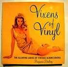 VIXENS OF VINYL BOOK ALBUM COVERS PIN UP BURLESQUE ART PHOTO SWINGING