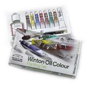 Winsor & Newton Winton Oil Colour Painting Set set of 7