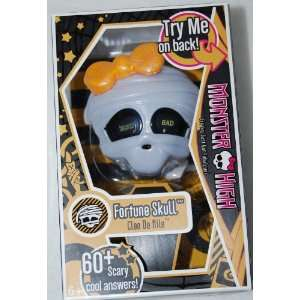 Monster High Fortune Skull Cleo De Nile 60+ Scary answers