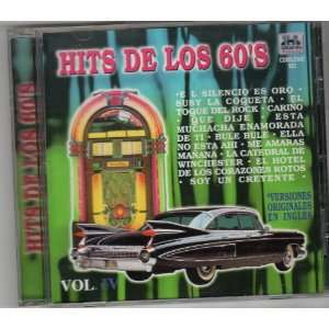 De Los 60s Vol Iv Versiones Originales En Ingles HITS DE LOS 60S