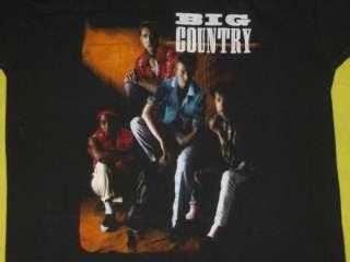 1983 BIG COUNTRY VTG T SHIRT TOUR CONCERT NEW WAVE MED