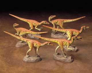 Tamiya 60105 Velociraptors Pack of Six 1/35 scale kit
