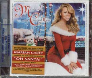 MARIAH CAREY, MERRY CHRISTMAS II YOU. FACTORY SEALED CD. In English.