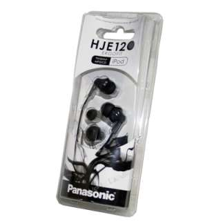 Panasonic RP HJE120 K In Ear Earbud Ergo Fit Headphone (Black)   Brand