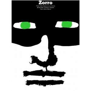 18x24 Movie POSTER.ZORRO French Italian film directed