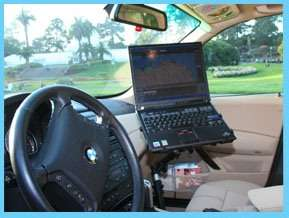 Car Auto Vehicle Netbook Laptop Mount Stand Table 100A