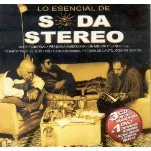 LO ESENCIAL DE SODA STEREO SODA STEREO Music