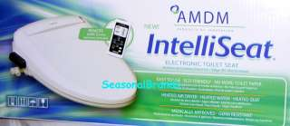 AMDM IntelliSeat Electronic Toilet Seat