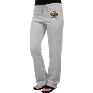 Oral Roberts Golden Eagles Ladies Ash Logo Applique Sweatpant
