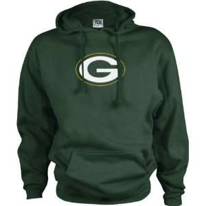Green Bay Packers Logo Premier Hooded Sweatshirt: Sports