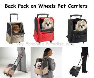 PET CARRIERS for DOGS   Back Packs & Duffle Bags