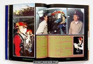 USS ABRAHAM LINCOLN CVN 72 FIRST CRUISE BOOK 1988 1990