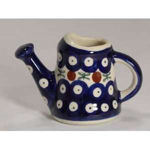 Polish Pottery Miniature Watering Can Old Poland wz009 11