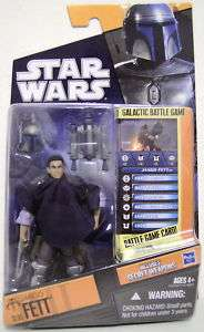 JANGO FETT Unmasked Star Wars Saga Legends Figure #SL05