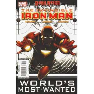 Invincible Iron Man (2008) #8 Books