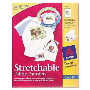 Avery® Personal Creations Inkjet Stretchable Transfer