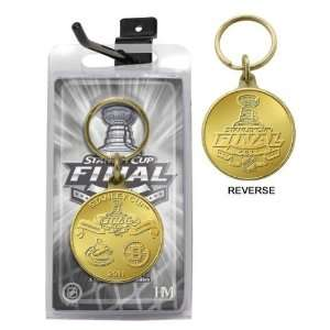 NHL 2011 Stanley Cup Final Bronze Keychain