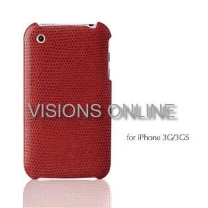 Visions Slim Iphone Hard Case Back Cover Reptile Cover