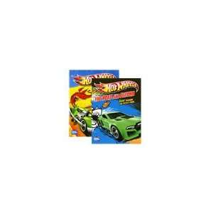 Hot Wheels Coloring Book 2 Pack Modern Publishing Books