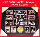 jon bones jones ufc champion signed memorabilia limited edition 500