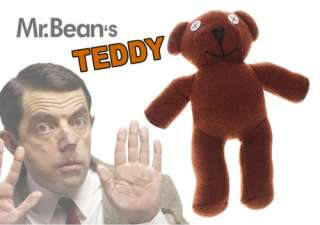 PACK MR.BEANS TEDDY BEAR OFFICIAL RARE PLUSH TOY DOLL 9 CHRISTMAS